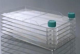 Multilayer Cell Culture Chamber Flask For Large Scale Cell