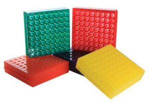 64-well-double-side-square-micro-tube-rack-holder-assorted-color