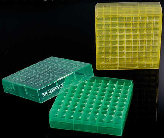 81-well-plastic-freezer-boxes-green-yellow